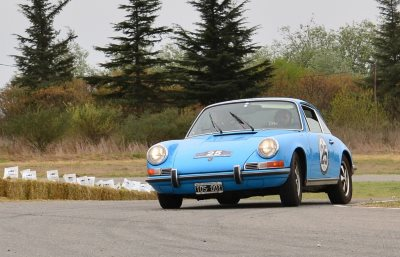 Rally de la Montaña - 1st Class. D. Erejomovich - G. Llanos on Porsche 911 T of 1970
