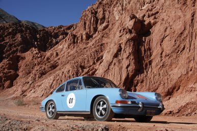 La Gran Carrera 2016 - 1st Class. Erejomovich - Llanos on Porsche 911 1970 - Photo by F. Gallucci