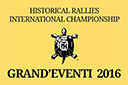 "HISTORICAL INTERNATIONAL RALLY CHAMPIONSHIP ""GRAND'EVENTI 2016"""